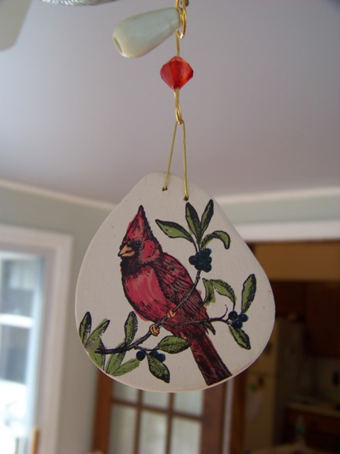 Cardinal Ornament Dec SC