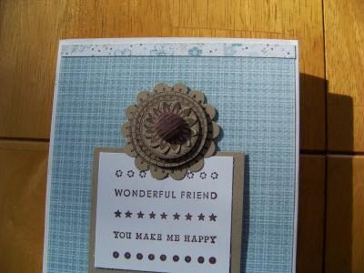 Folder Planner Jake button close up