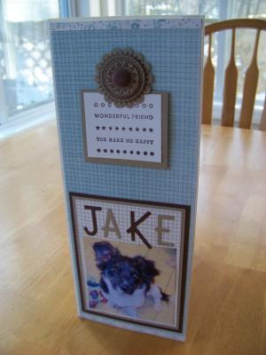 Folder planner Jake front