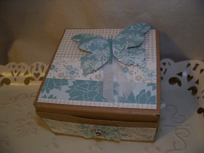 Forever Friends Butterfly Box