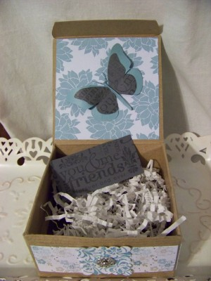 Forever Friends Butterfly Box inside