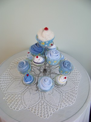 Cup cake gift