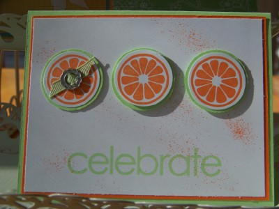 Heather Sweet Orange Celebrate