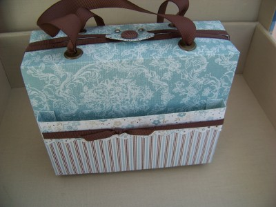 March Class Box front