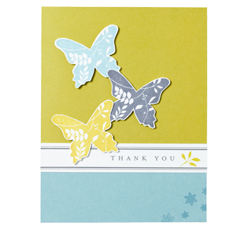 APRIL tHANK yOU cARD