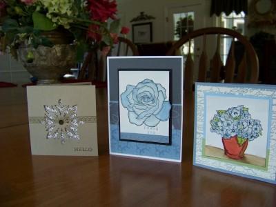 Peaceful cards