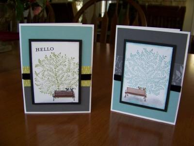 Peaceful Park cards