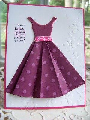 Dress card sept