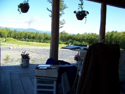 Stampin studio a la Aunt Donnas house