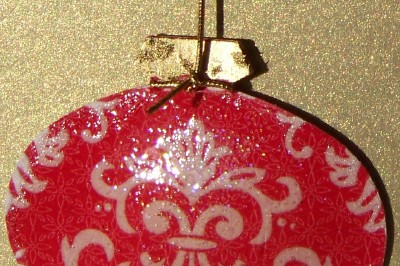 Close up of ornament