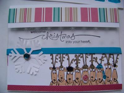 November Stamp Camp 09 reindeer