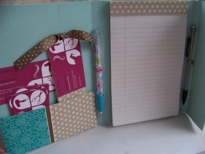 Folder redo inside