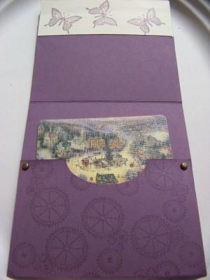 Dec SC Gift Card Holder inside