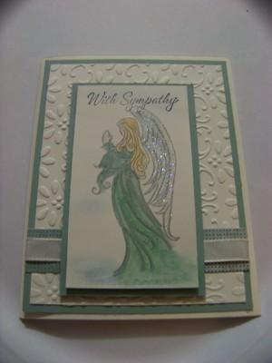 Dec sc sympathy or chirstmas card
