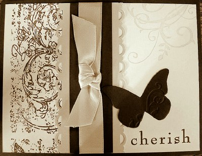 Cherish Butterfly Vintage wheel