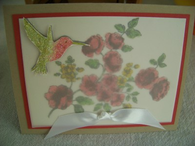 Elegant Mother's Day Card for mom k