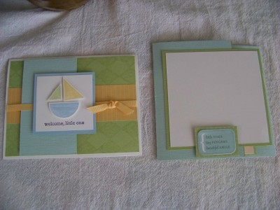 Card and album
