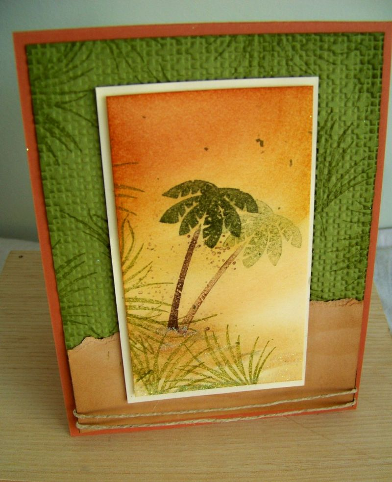 May Stamp Camp tropical paradise