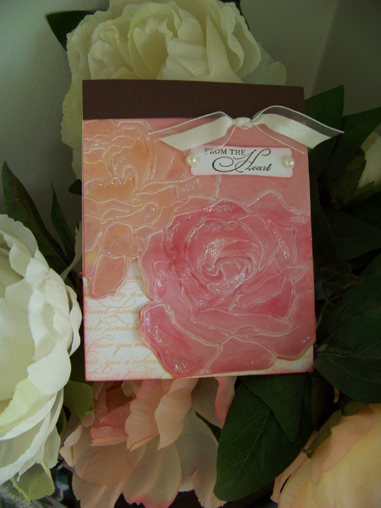 May Stamp Camp Roses from the heart