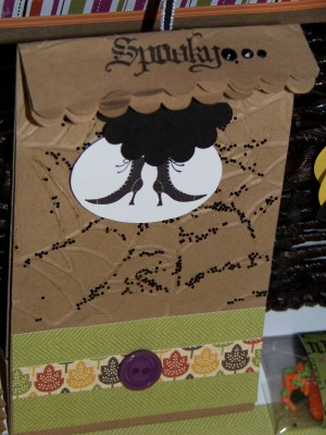Sept SC 2010 Cup Cake Bag Halloween