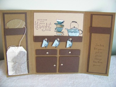 Cupboard with tea
