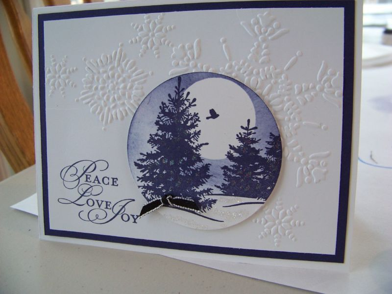December Stamp Camp Trees