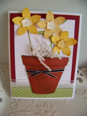 Petal Cone Die flower Pot